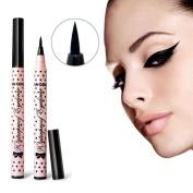 Sankuwen Eyeliner Pen Makeup Cosmetic Black Pink Liquid Eye Liner Pencil Make Up Tool