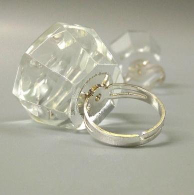 WellieSTR 1Pcs Eyelash Crystal Glue Ring Finger Ring Adhesive Glue Glass Pallet Holder Beauty Tool Nail Art Tattoo tool