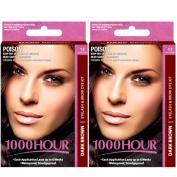 Combo Pack! 1000 Hour Eyelash & Brow Dye / Tint Kit Permanent Mascara