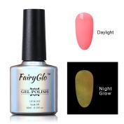 FairyGlo Long Lasting Night Glow Gel Nail Polish Soak Off UV LED Dramatic Manicure Decor Kit Nail Art For Party Carnival Dressing 10ml 6717