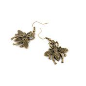 1 Pair Fashion Jewellery Making Charms Earrings Backs Findings Arts Crafts Hooks Bulk Lots Wholesale Supplier Z2MJ0 Bee