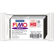 Fimo Soft Oven-Bake Clay 240ml-Black