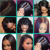 Youth Beauty® Free Part Straight Silk Base Top Closure Bleached Knots Free Part 10cm *10cm Brazilian Virgin Silky Straight Human Hair Closure
