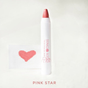Best Lip Stain Crayon By Jing Ai - Pink Star - More Than A Lipstick Our Velvet Shine Lip Jewel Gives Lips Highly Pigmented Long Lasting Colour & Sexy Pout. Paraben & Cruelty Free 30ml