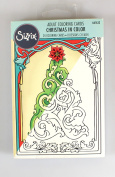 Sizzix Colouring Cards - Christmas in Colour