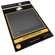 Graphite Transfer Tracing Paper - 3 Sheets - 50cm x 120cm - Carbon Paper by MyArtscape