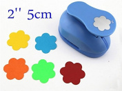 Somnr® Flower punches 5.1cm craft punch paper cutter scrapbook child craft tool hole punches Embossing device kid S2935