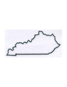 Pack of 3 Kentucky State Stencils Made from 4 Ply Mat Board 11x14, 8x10, 5x7