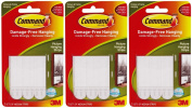 Command Medium Picture Hanging Strips, 3-Strip, 3-PACK