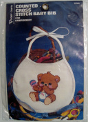 Counted Cross Stitch Baby Bib for Embroidery (15cm x 18cm ) #8759G