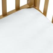 Baby Portacrib Sheet (White)