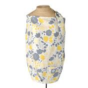 Yellow Tulip Nursing Cover - 100% Cotton Contoured Floral Design