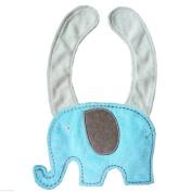 BOKOLI NEW Baby Kids Infant Cute Cartoon Animal Toddler Saliva Towel Lunch Bibs