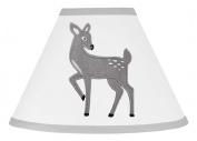Baby Girl or Boy Childrens Lamp Shade Forest Deer and Dandelion Collection