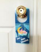 Baby Sleeping Sign Door hanger to Prevent Knocking on the Door Stopping Salesman Hangers