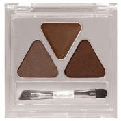 Eyebrow Shaper Grooming Stencil Liner Makeup Brush Kit