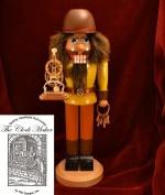 Ginger Cottages Anthony the Clockmaker Nutcracker NUT101