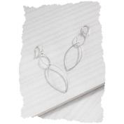 Silpada Designs Interlocking Earrings Sterling Silver