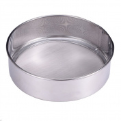 Lautechco® 60 Mesh Stainless Steel Ultra Fine Mesh Flour Sifting Sifter Sieve Strainer Cake Baking Kitchen