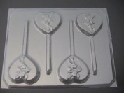 Fairy Heart Chocolate Candy Lollipop Mould