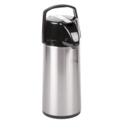 Choice 2.2 Litre Glass Lined Stainless Steel Airpot with Lever