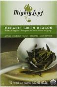 Mighty Leaf Green Tea, Organic Green Dragon, 15 Pouches by Mighty Leaf Tea