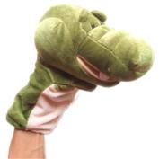 Finger Puppet Toy, FTXJ Cute Plush Crocodile Doll Full Body Hand Puppet