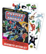 DC Comics Justice League Magnetic Comic Book Action Play Set