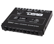 DS18 KEQ4LD 4-Band Equaliser & 2-Way Crossover with High-Voltage Line Driver