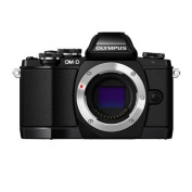 Olympus OM-D E-M10 16.1 Megapixel Mirrorless Camera (Body Only) - Black