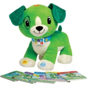 LeapFrog Read with Me Scout Toy, A Playful Toy Pup That Reads And Asks Questions.