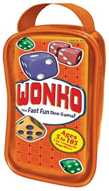 Wonko - Fun Fast Dice Race Game - 9 Levels so Ages 5 to 105 Can Compete Together!