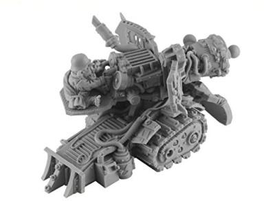 Kromlech Miniatures: 28mm Orc Sparkk Energy Cannon