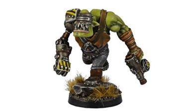 Kromlech Miniatures: Skargut Ironfist , Orc Commander
