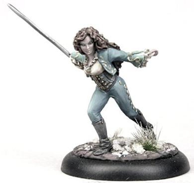 Bombshell 32mm Scale Miniatures: Gabrielle