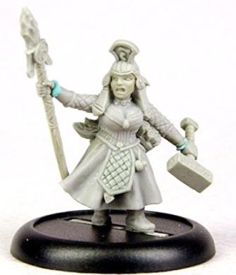 Bombshell 32mm Scale Miniatures: Astrid Thunderhammer