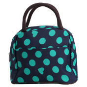 ZXKE Colourful Hearts Print Design Women Bag Nappy Tote Kids Lunch Bag
