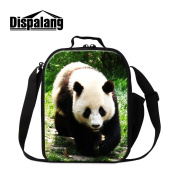 Dispalang Animal Printing Insulated Lunch Cooler Bags for Children Cool Lunch Box Bags for Adults