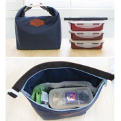 Mikey Store Waterproof Lunch Portable Insulated Thermal Lunch Carry Tote Picnic Storage Bag Lunch box Food Bag Picnic Insulated Food Storage Box Tote Lunch Bag Handbag