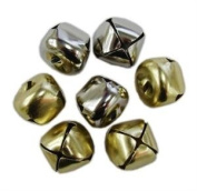 Tanday 1.9cm 30pcs Silver Jingle Bells #8903 for crafts
