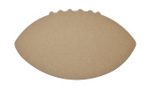 Football Shape Unfinished MDF Cut Out MFB12