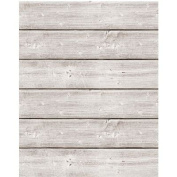 Jillibean Soup Mix The Media Wooden Plank-46cm x 60cm Weathered White