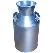 Galvanised Milk Can 25cm x 14cm -