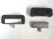 Metal & Rubber Industrial Sewing Machine Table Hinge Set