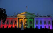 Gay Marriage Rainbow White House Photo Art Obama Administration Photos Artwork 8x12