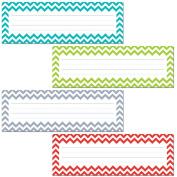 Creative Teaching Press Chevron Solids Name Plates
