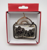 Mt. Rushmore Brass Christmas ORNAMENT South Dakota Travel Souvenir Gift