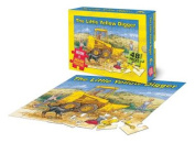 The Little Yellow Digger Book and Jigsaw Puzzle