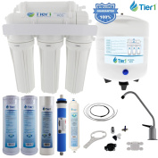 5 Stage Reverse Osmosis Home Drinking Water Filtration System 50 GPD