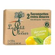Le Petit Olivier Extra Mild Verbena Lemon Soap 2 x 100g